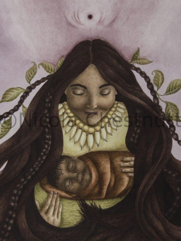 Divine Mother by Nicola Chestnutt