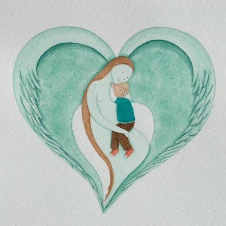 Little Boy's Guardian Angel